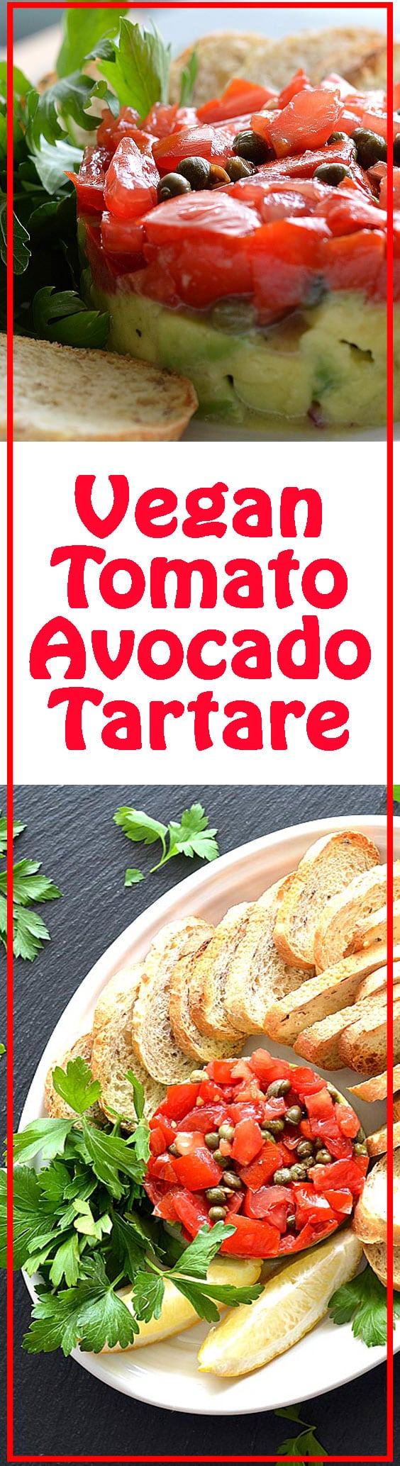 Tomato Avocado Tartare