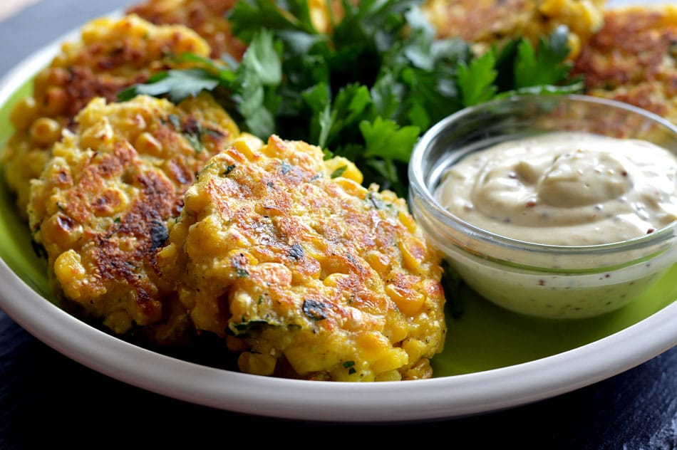 Vegan Corn Fritters - TheVegLife