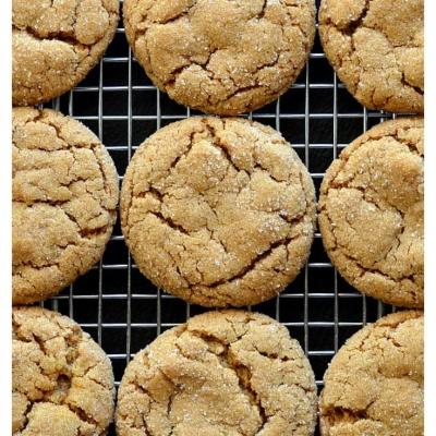 SOFT Pumpkin Ginger Cookies
