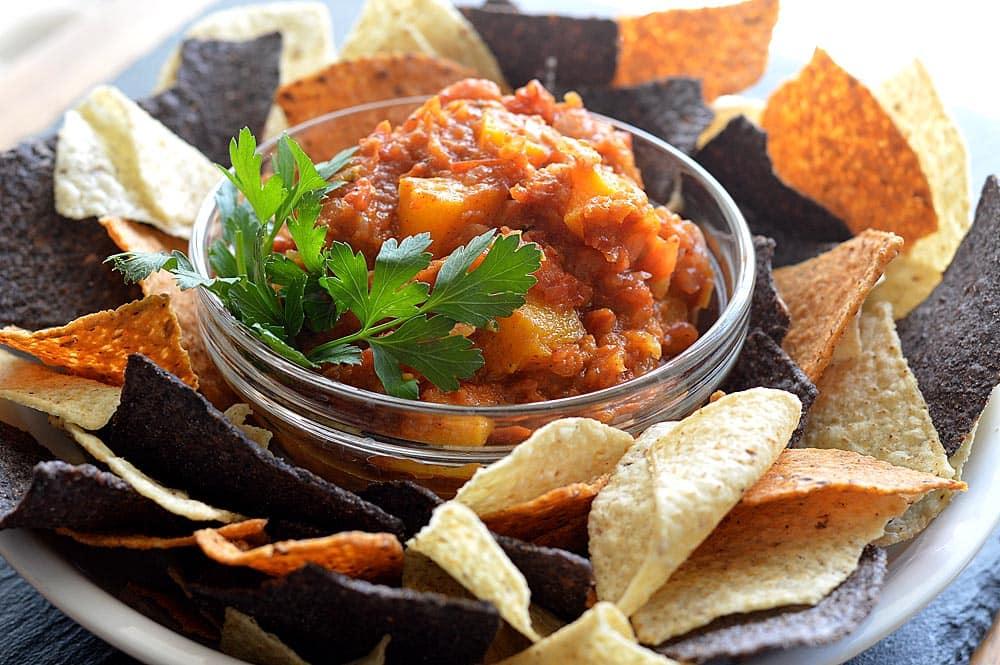 Chunky Chipotle Pumpkin Salsa
