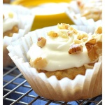 Vegan Butternut Squash Cupcakes with Maple Cream Cheese Frosting