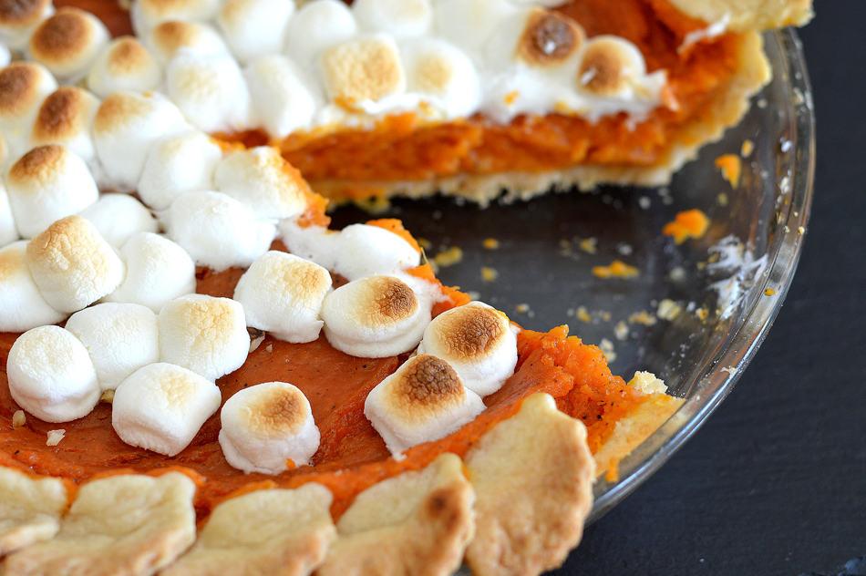 Vegan Sweet Potato Pie - TheVegLife