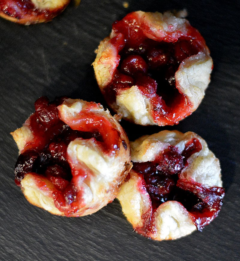 Leftover Cranberry Tarts