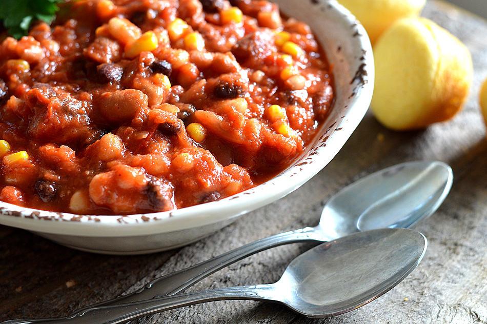 Vegan 3 Bean Chili