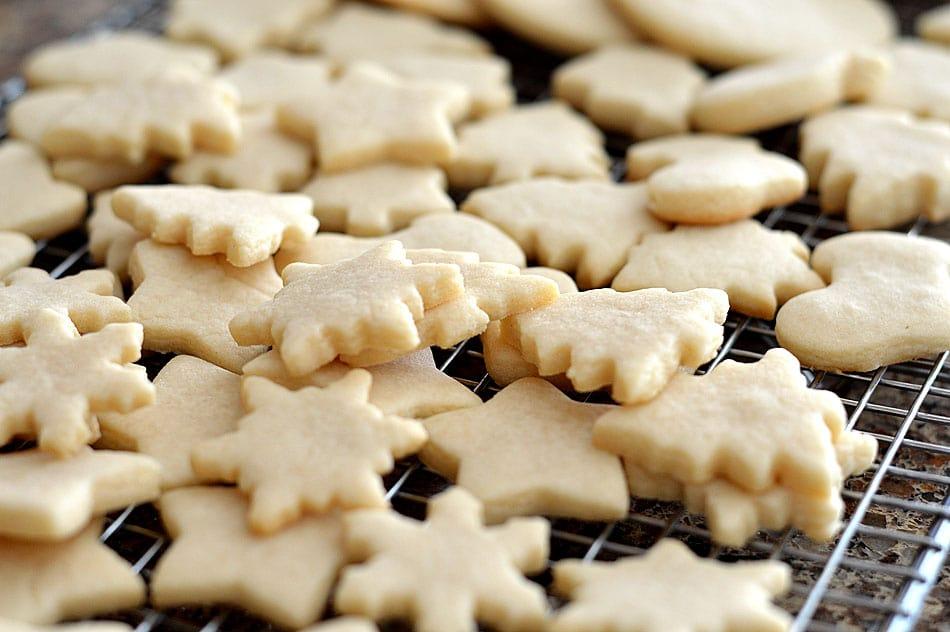 Vegan Sugar Cookies + Sanding Sugar