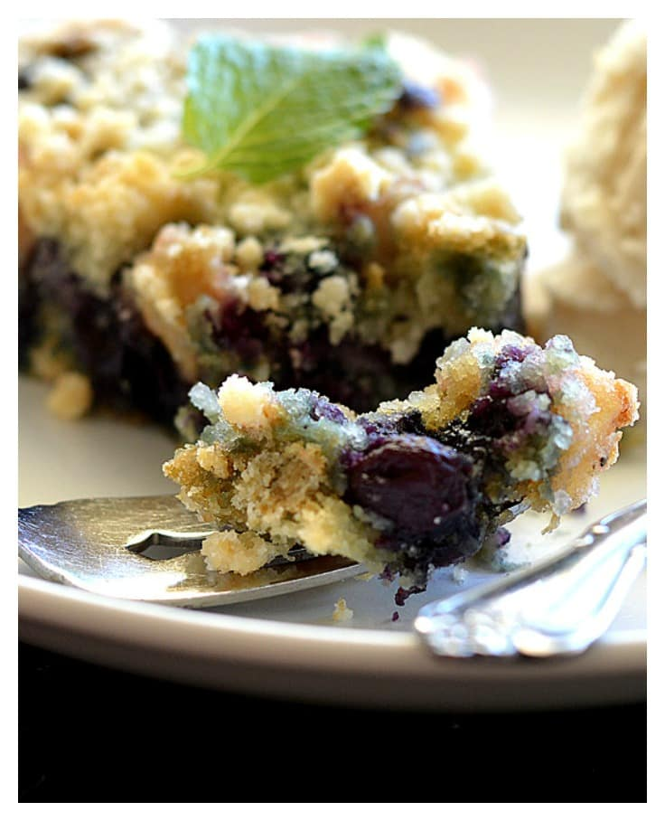 Immaculate Blueberry Sugar Cookie Tart