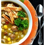 Green Chile Portobello Posole