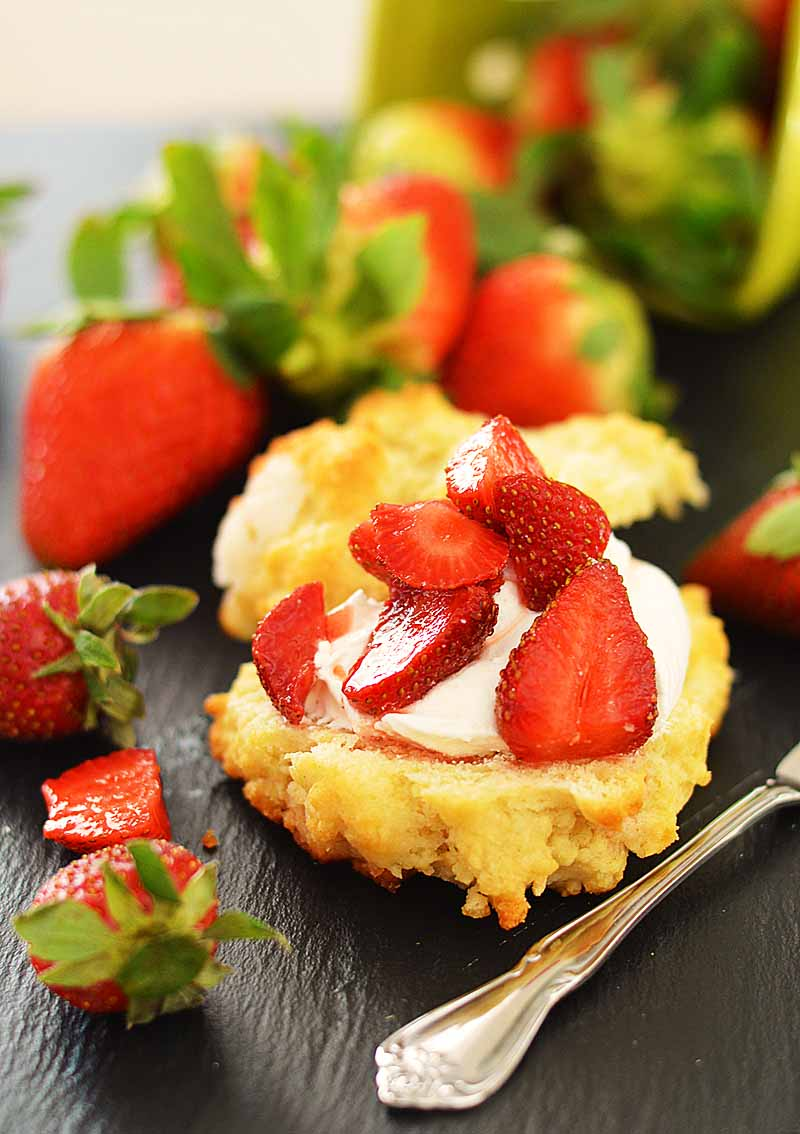 Vegan Strawberry Shortcake Recipe