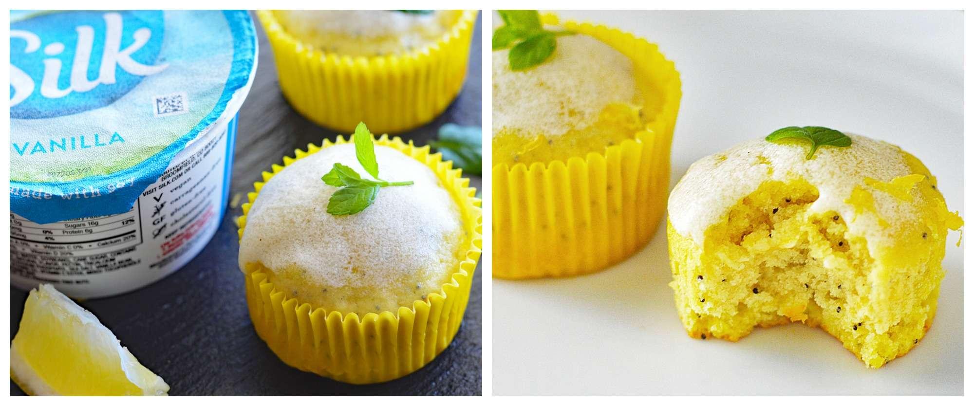 Vegan Lemon Poppyseed Yogurt Cake