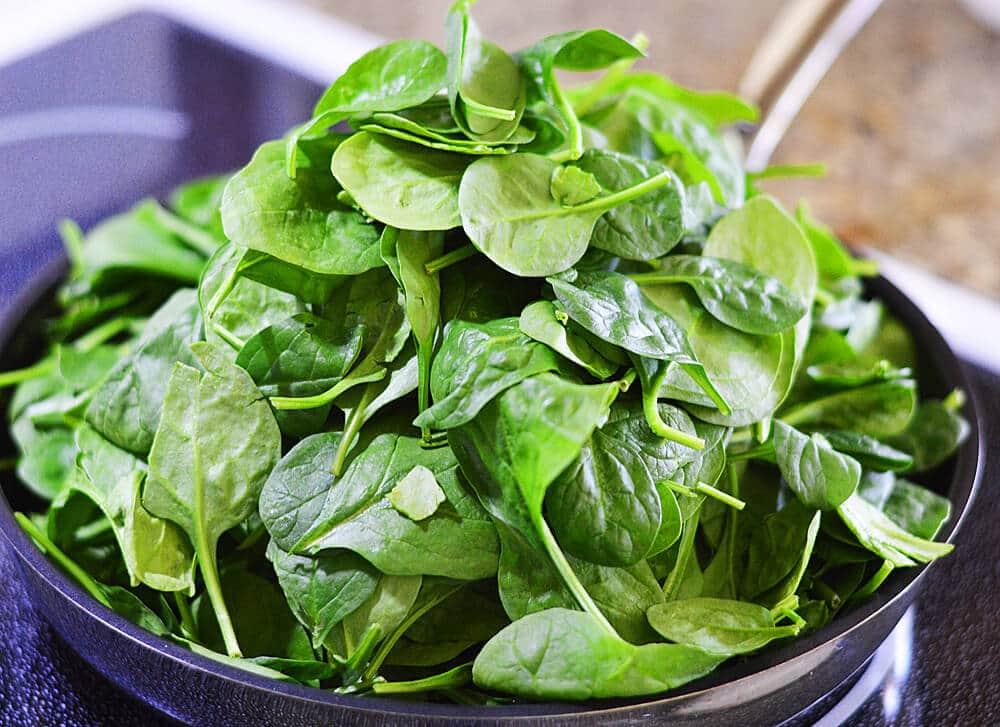 Vegan Creamed Spinach Phyllo Tart