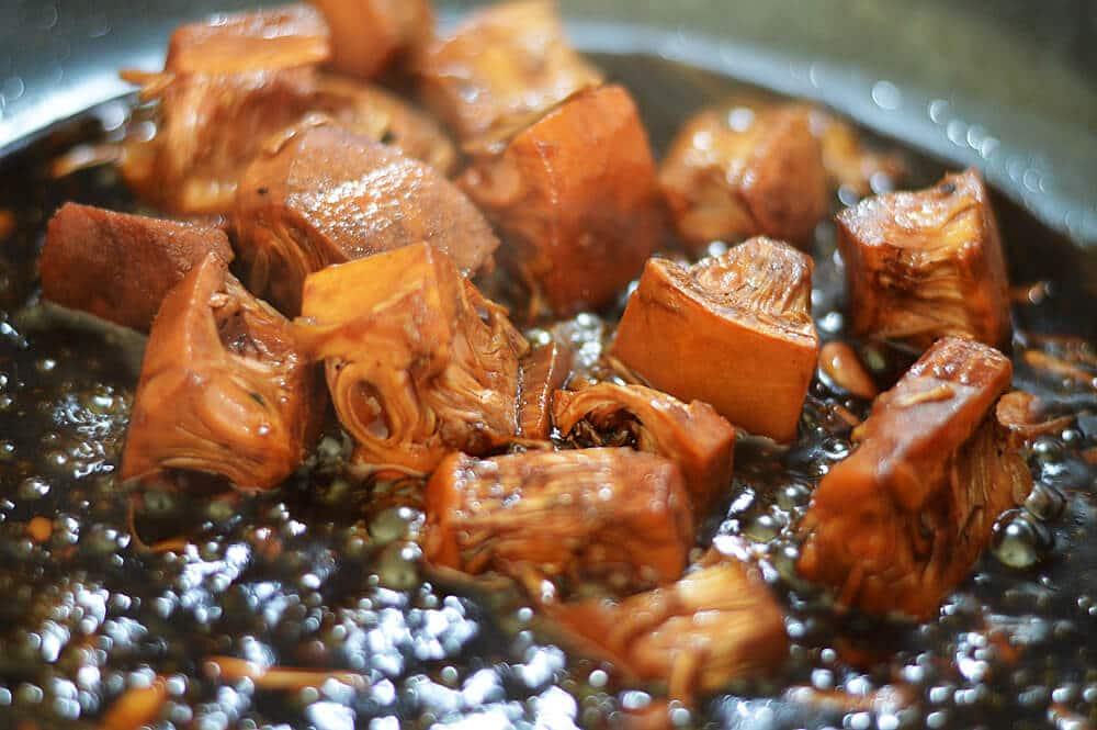 Vegan Teriyaki Jackfruit Bowl