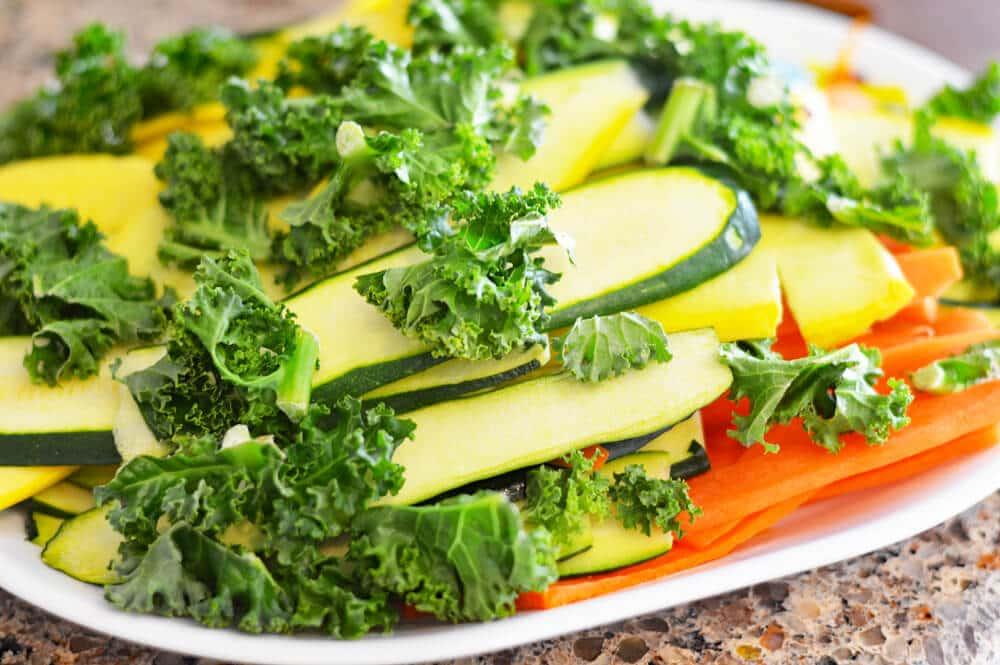 Vegan Spring Vegetable Tart