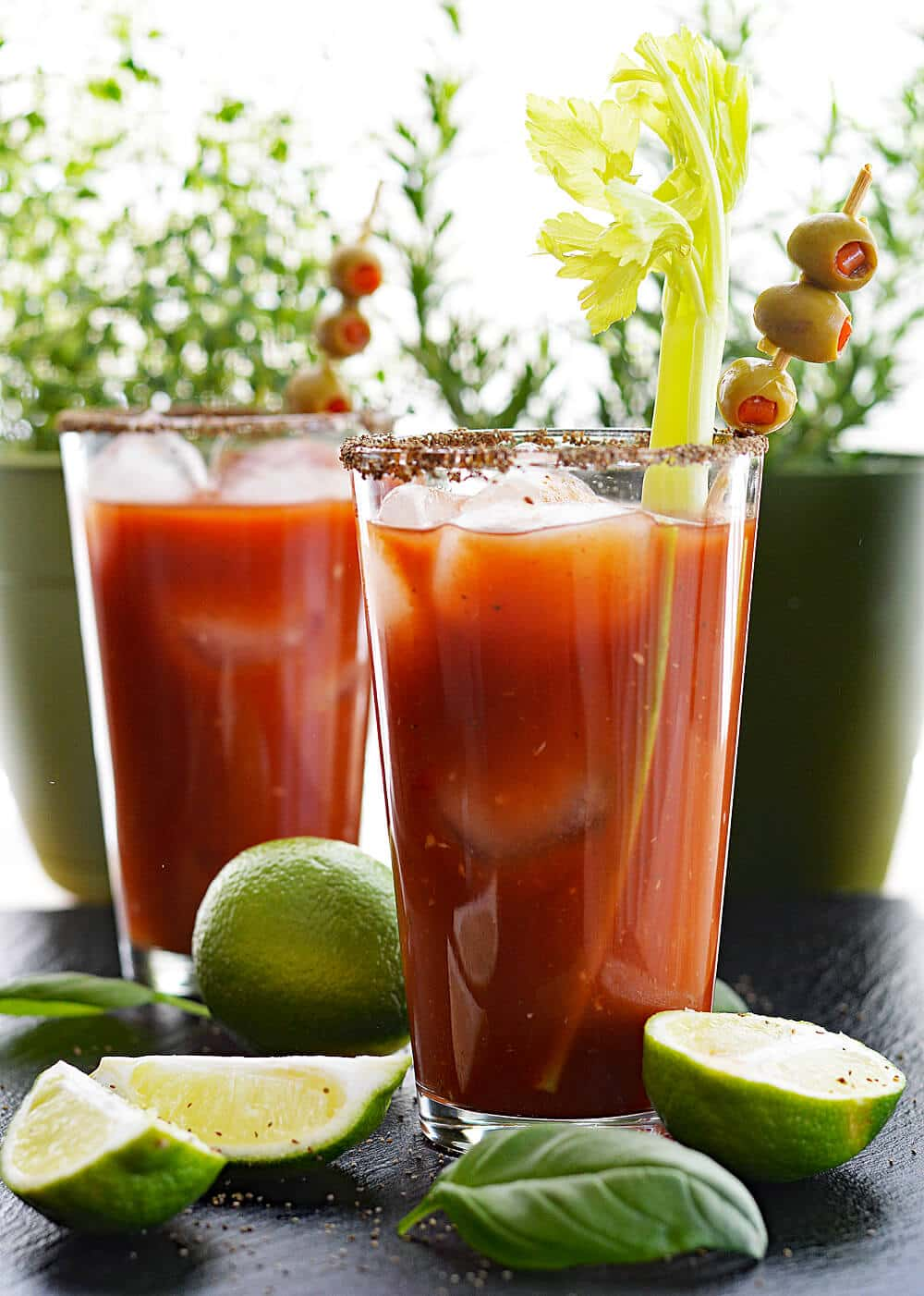 Vegan Bloody Mary Virgin Mary Theveglife