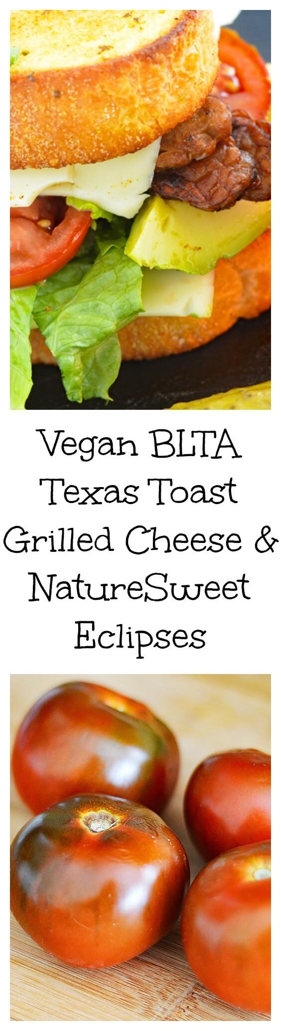 Vegan BLTA Texas Toast Grilled Cheese