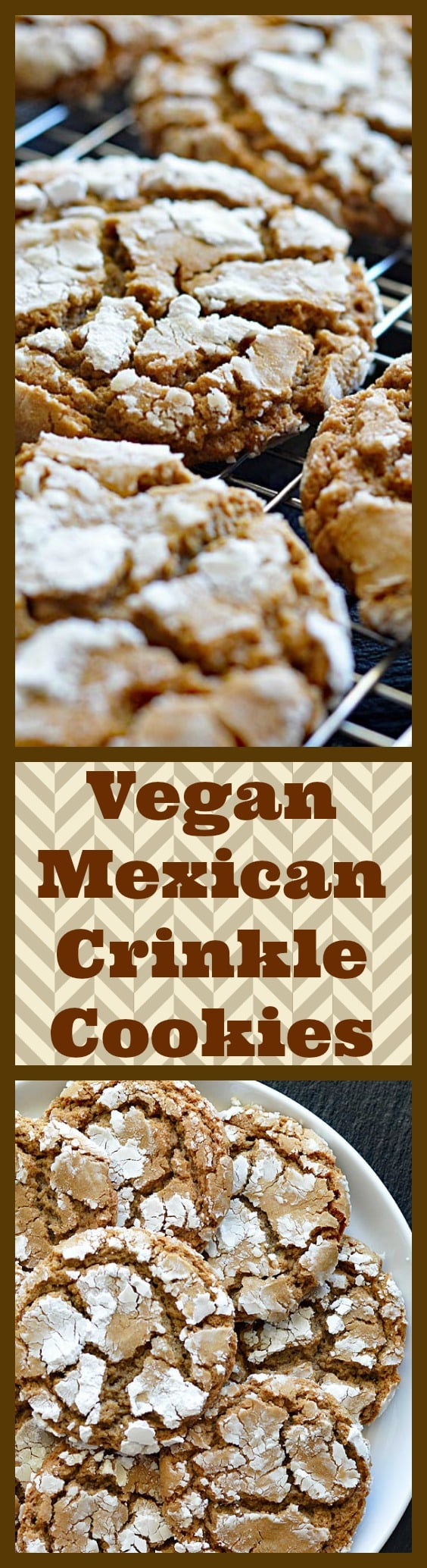 Mexican Crinkle Cookies LONG PINTEREST IMAGE