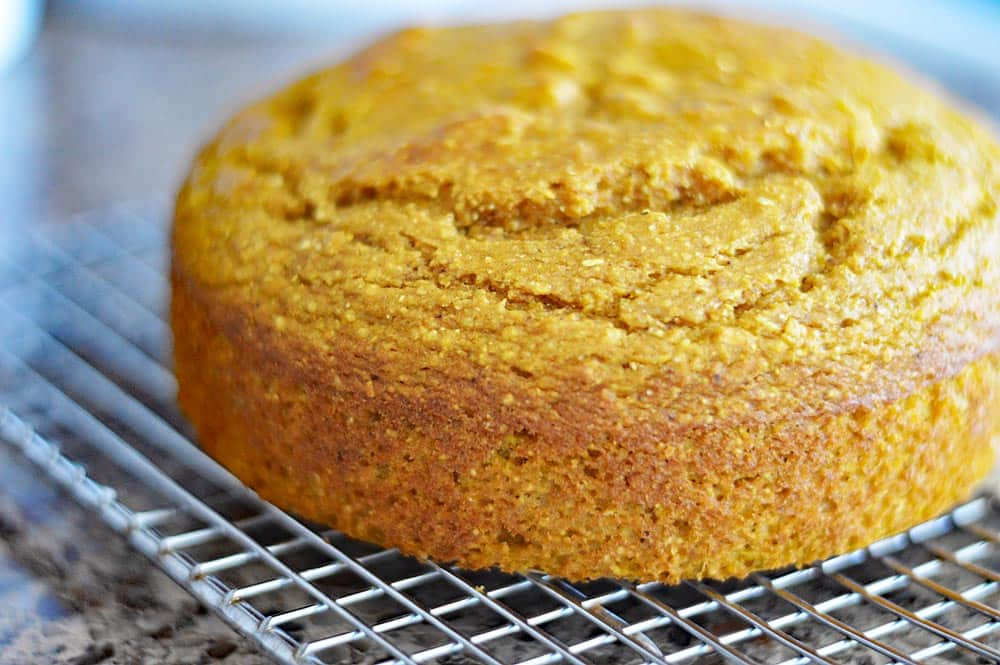 Easy Vegan Pumpkin Cornbread