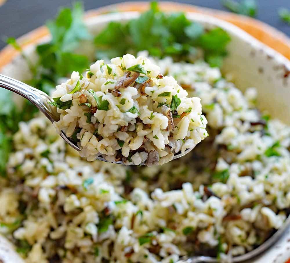 Herbed Wild Rice Pilaf