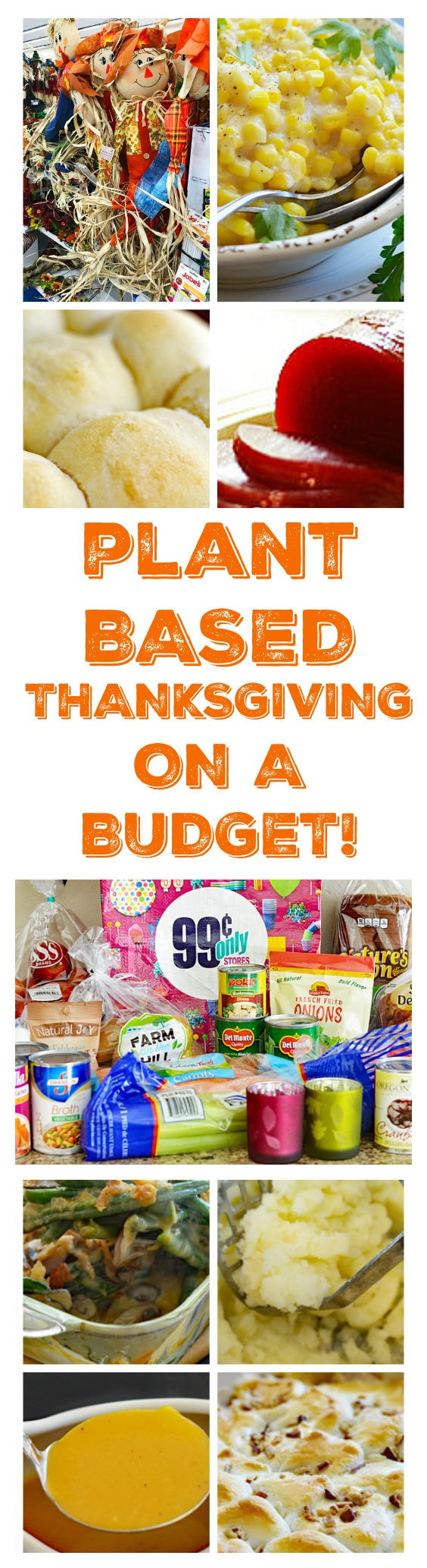 Plant Based Thanksgiving On a Budget with the 99!