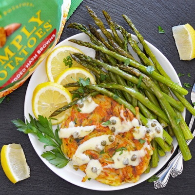 SIMPLY POTATOES® Vegetable Latke Piccata