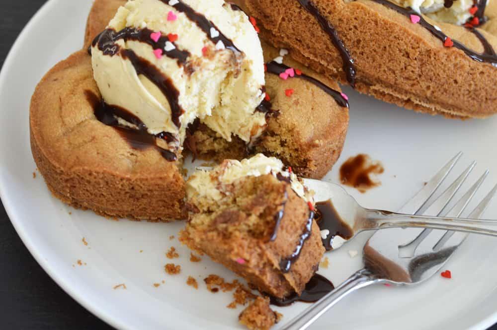 Vegan Chocolate Chip Cookie Cake