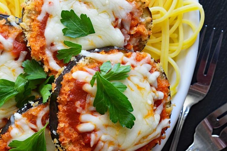 Vegan Air Fryer Eggplant Parmesan Recipe