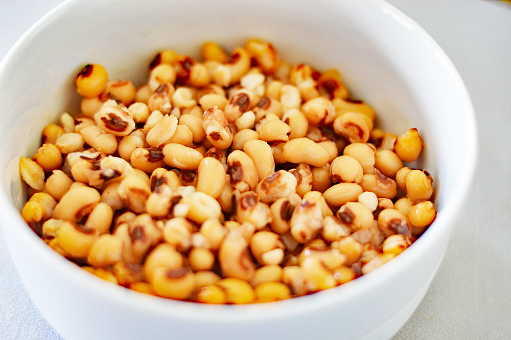 "Bowl of Black Eyed Peas for Cowboy Caviar a/k/a ""Texas Caviar"""