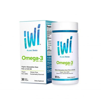iWi® Omega-3 Algea Supplement: Super Food of The Future {VEGAN}