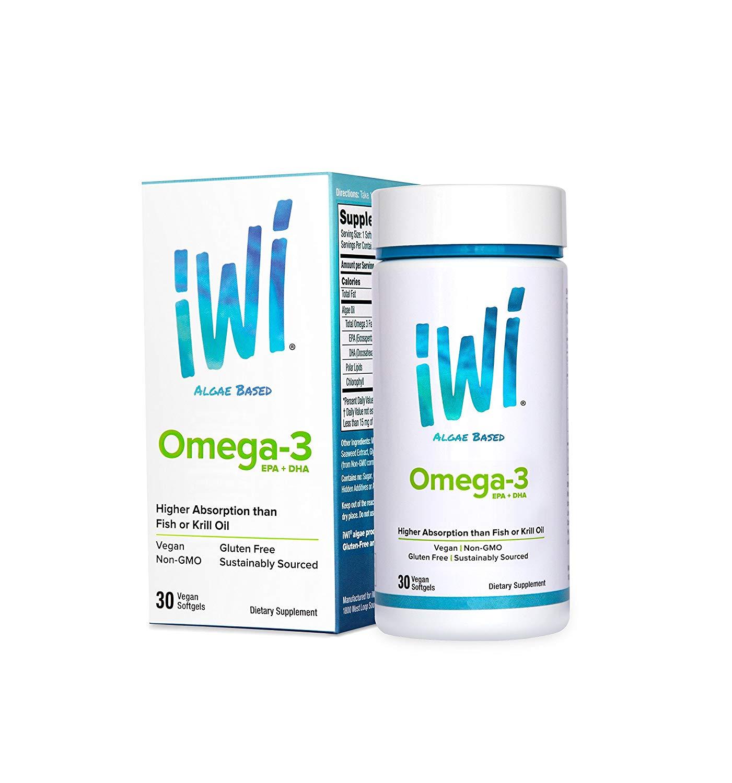iWi Omega-3 Algea Supplement: Super Food of The Future BOX