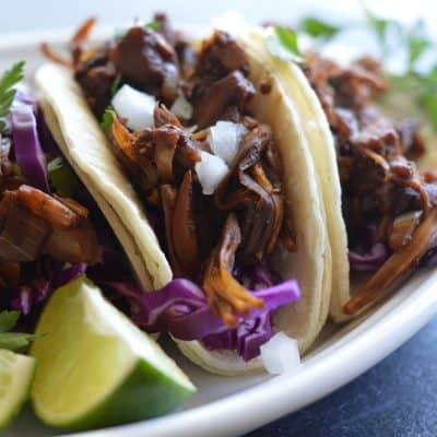 Vegan Barbacoa Jackfruit Street Tacos Recipe