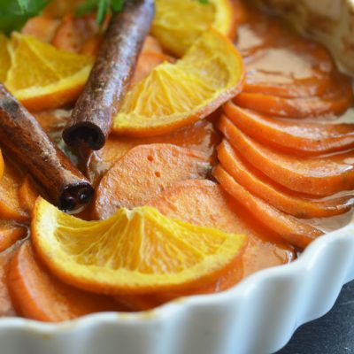 Classic Candied Sweet Potatoes Recipe