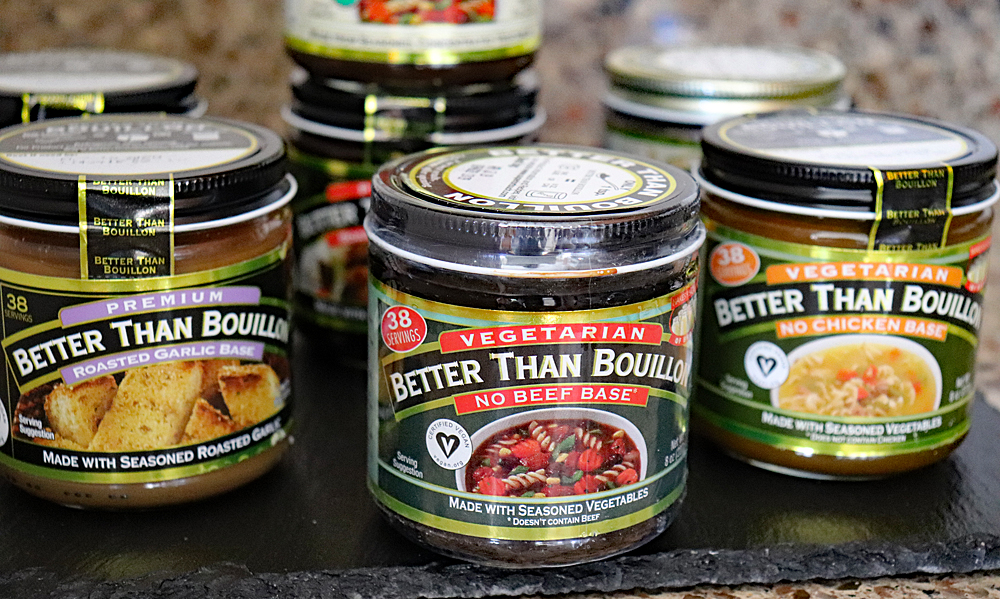Selection of Better Than Bouillon Jars