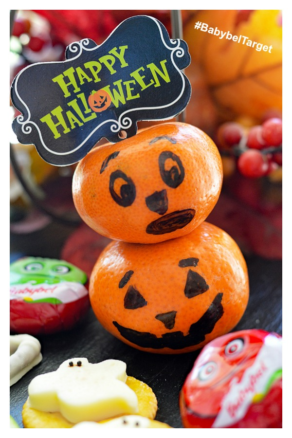 Alternate Pinterest picture for Choose Mini Babybel® at Target for a fun Halloween Treat!