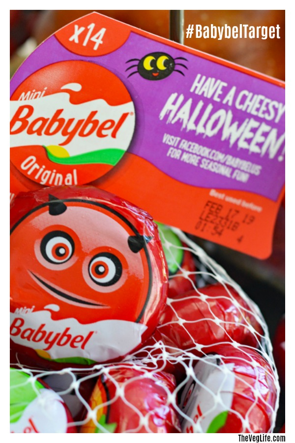 Pinterest picture for Choose Mini Babybel® at Target for a fun Halloween Treat!