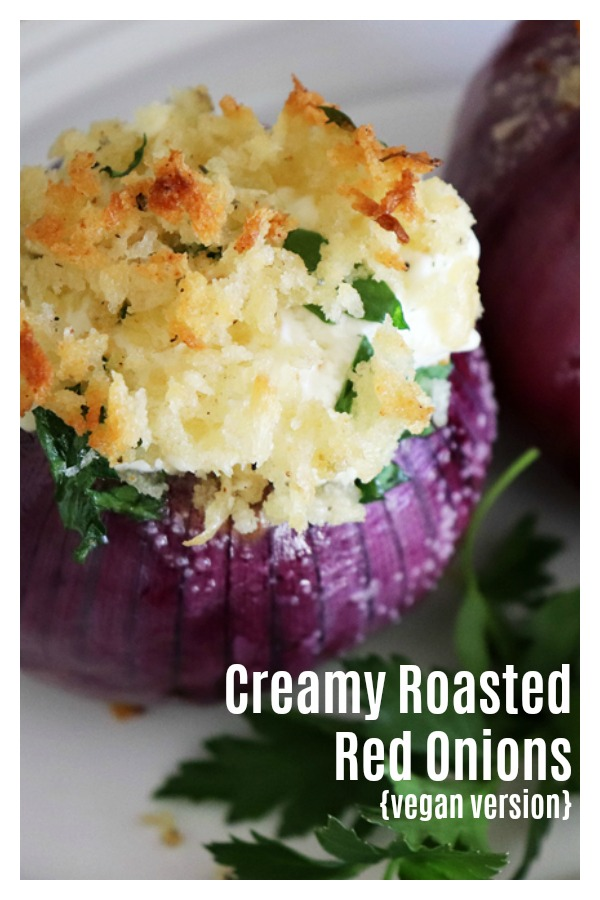 Emeril's Creamy Roasted Red Onions