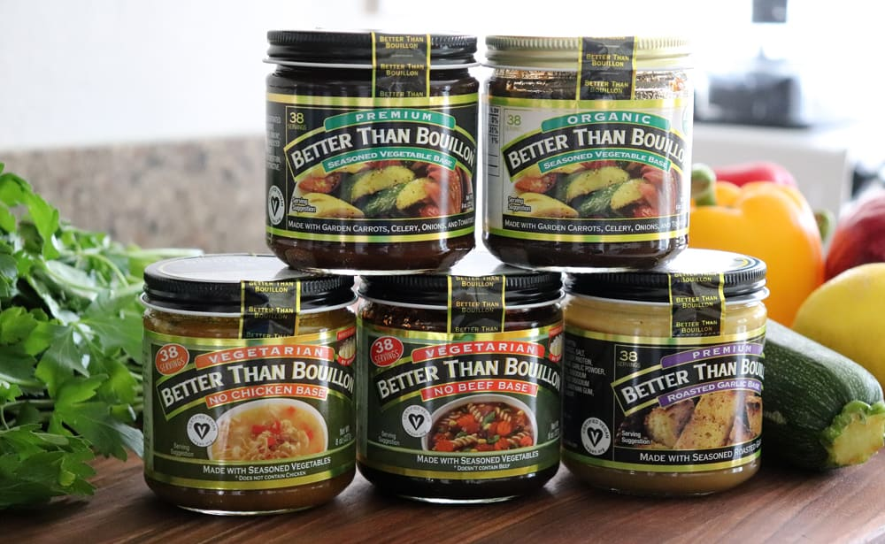 Jars of Better Than Bouillon
