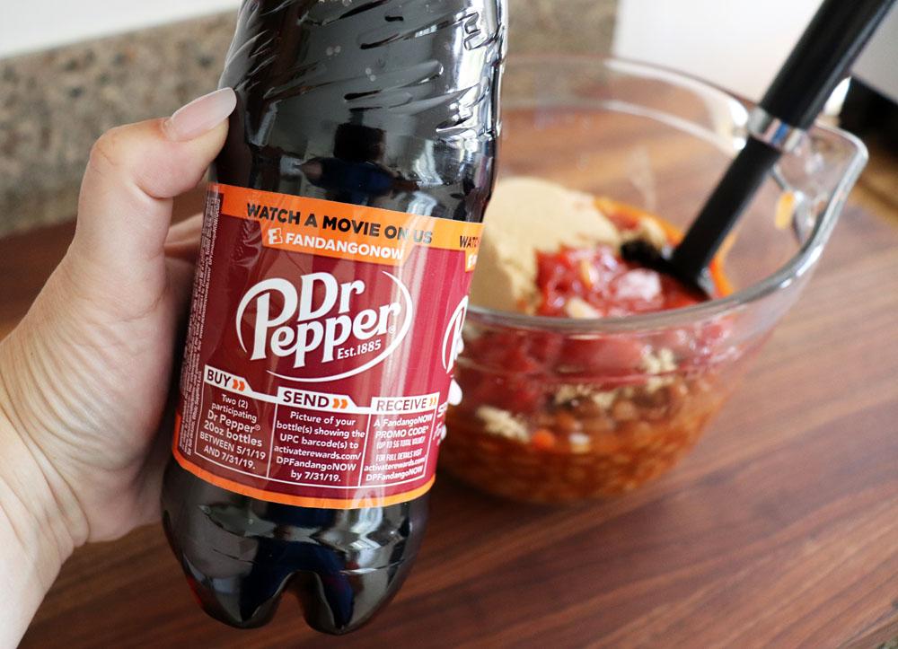 Dr. Pepper bottle