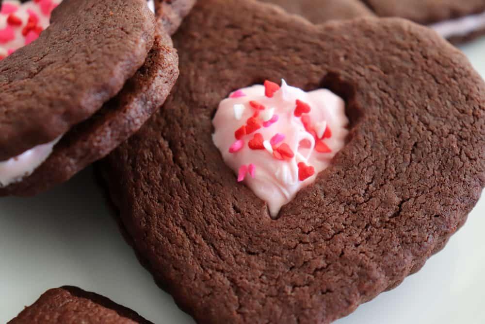 Vegan Chocolate Sugar Cookies hero shot