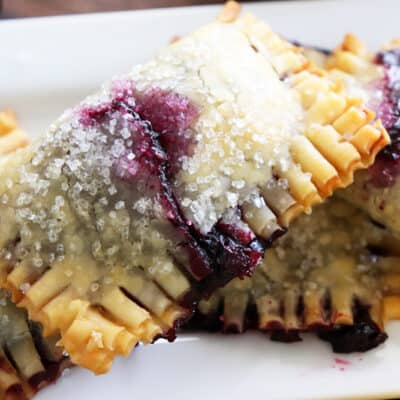 Easy Vegan Lemon Blueberry Hand Pies