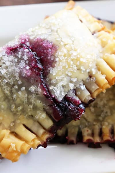 Lemon Blueberry Hand Pies HERO IMAGE