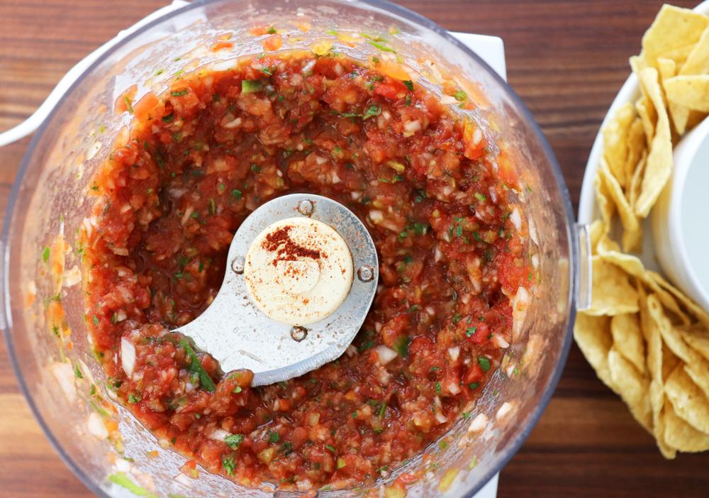 Pureed Blender Salsa