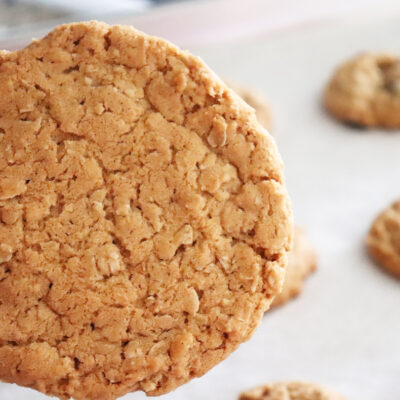 Old Fashioned Chewy Oatmeal Cookies