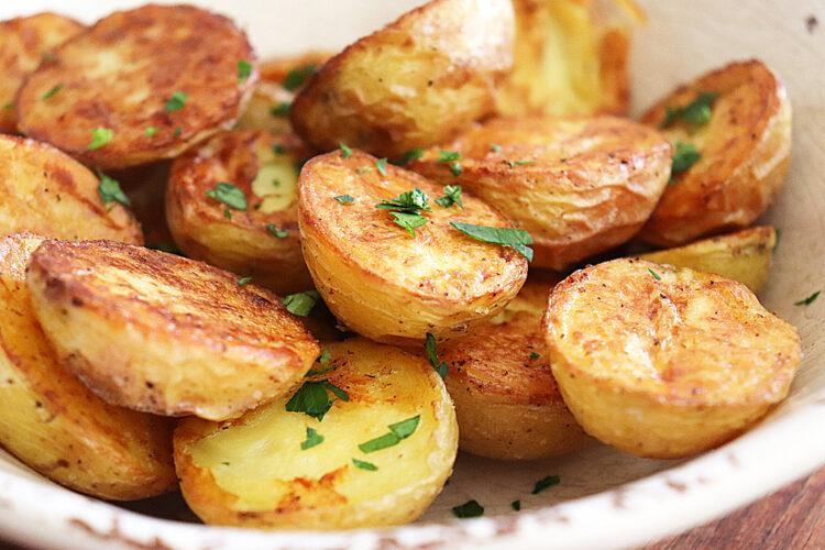 Oven Roasted Dutch Baby Potatoes HERO