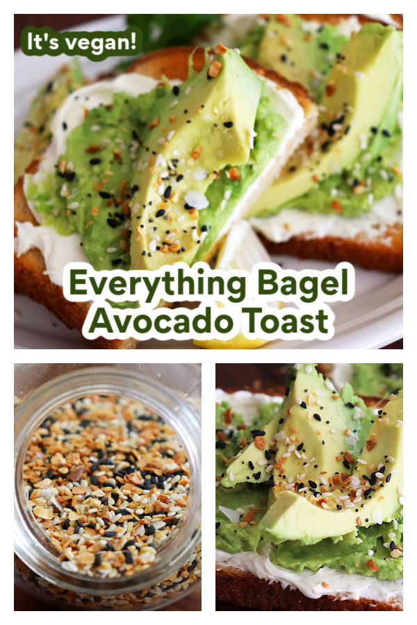 PIN for Everything Avocado Toast Recipe