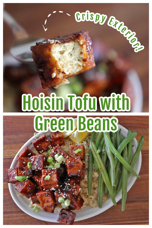 PIN for Crispy Hoisin Glazed Tofu with Green Beans