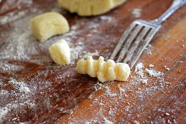 Easy Homemade Vegan Gnocchi