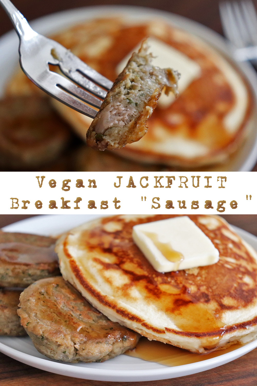 PIN for Vegan Jackfruit Breakfast Sausage